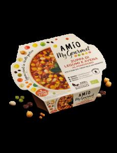 Zuppa di Legumi e Avena al Pomodoro